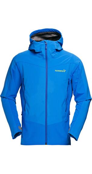 Norrøna falketind Windstopper Hybrid Jacket Men electric blue